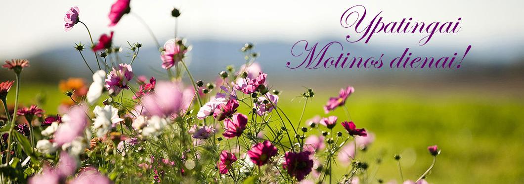 Ypatingai Motinos dienai!